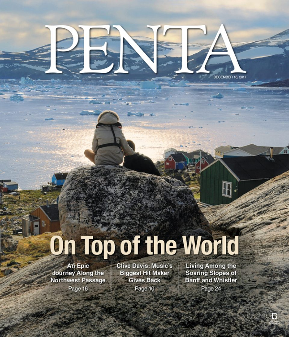 Penta cover, photo editing by Amber Sexton
