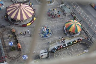 Coney Island Aerial View, a photo by Amber Sexton